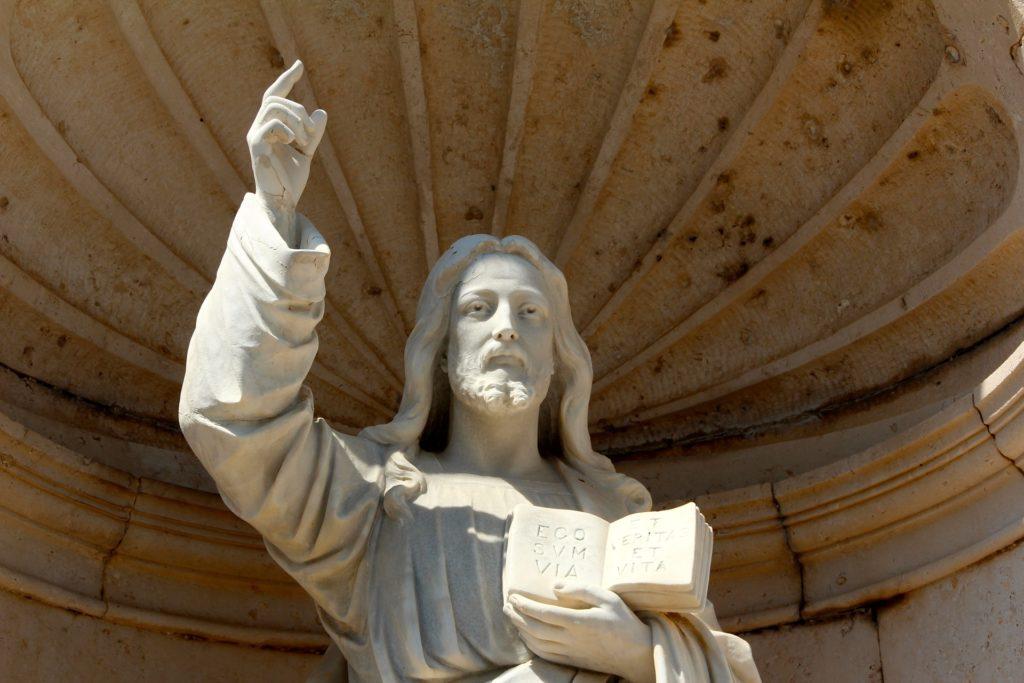 jesus decia pedro era roca