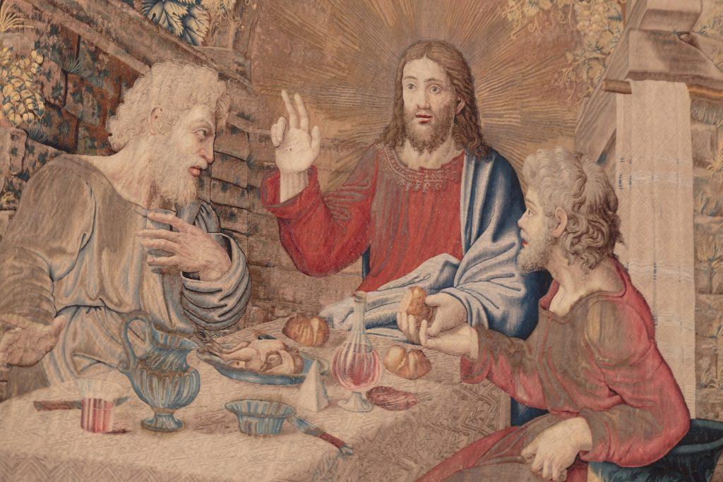 jesus enseño a amar a discipulos