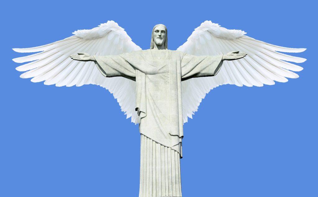 jesus paso manos hombre a dios